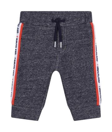 T-shirt arancio, scritta centrale, Timberland